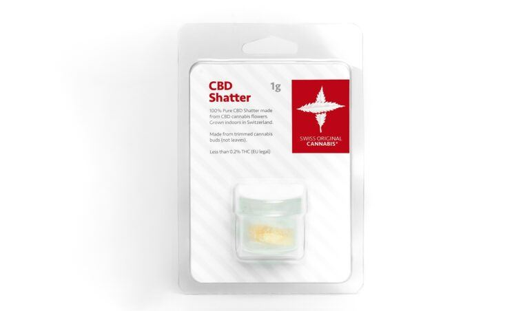 CBD Shatter 1g - CBD Crystal